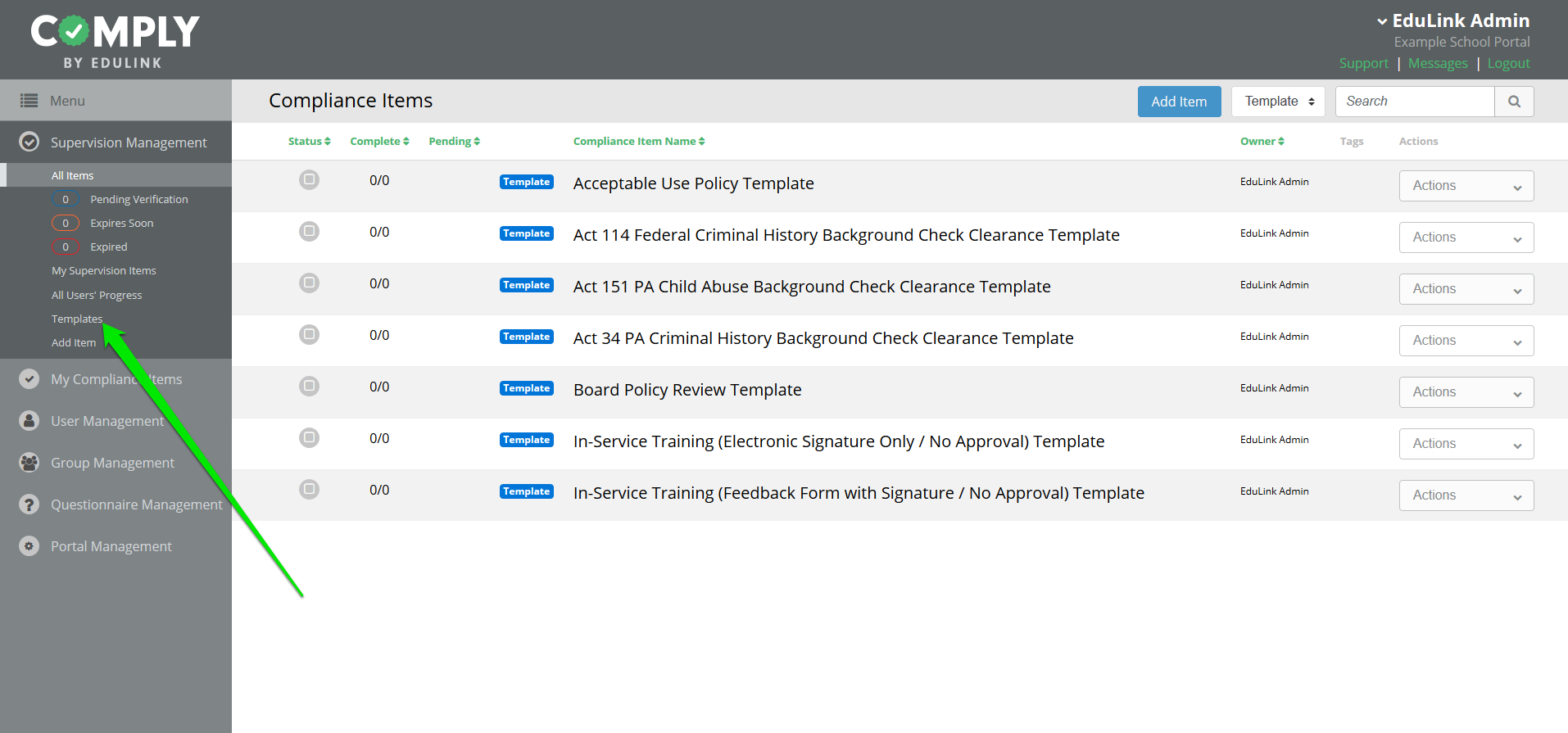 New Templates Clearances And More Edulink Inc