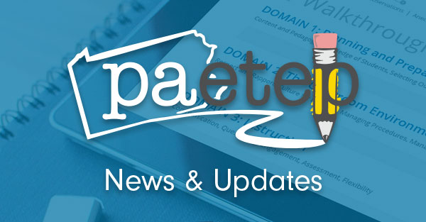 PA-ETEP News and Updates