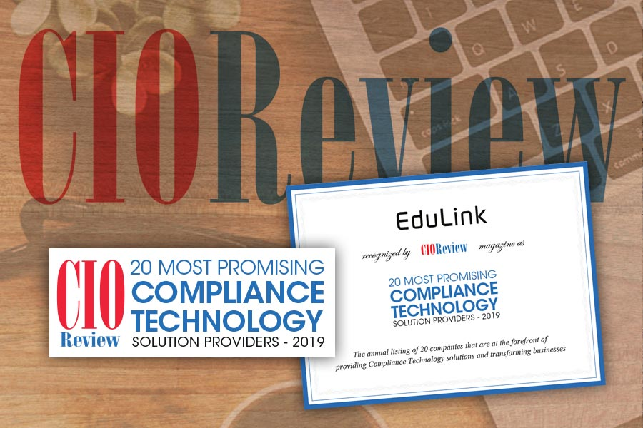 Edulink CIO Review Award